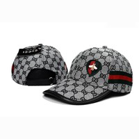 GUCCI Women Men Stripe Print Adjustable Travel Hat Sport Cap
