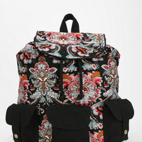 Urban Outfitters - Ecote Triple-Pocket Canvas Backpack