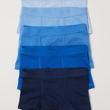 5-pack Boxer Shorts - Blue - Kids | H&M US