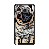 pugs alot dog 3f759c54-35a4-45fc-bc80-44191d7ed5c1 FOR Samsung Galaxy Note 5 CASE *RA*