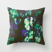Chrysanthemum | Japan | Garden Throw Pillow by Azima