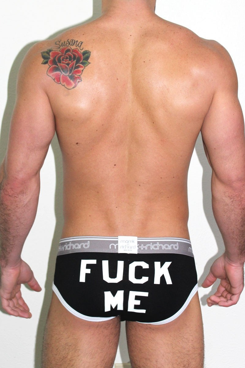 Fuck Me Brief Black