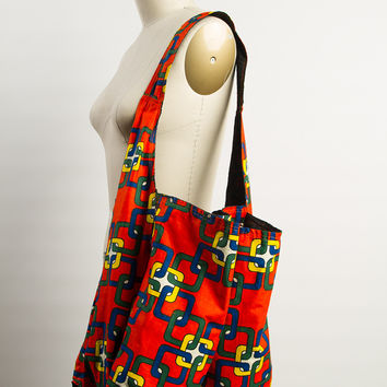Reversible Market Tote - The Peace Exchange