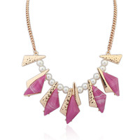 Stylish New Arrival Gift Shiny Jewelry Punk Strong Character Geometric Necklace [4918886212]