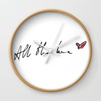 All the Love Wall Clock by Kate & Co.