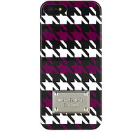 MICHAEL Michael Kors Houndstooth iPhone 5 Cover