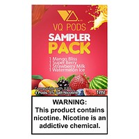 VQ PODS Sampler Pack of 4