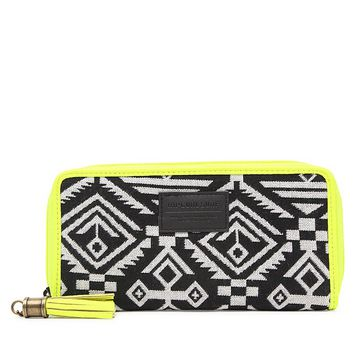 Rip Curl Bonita Tribal Print Wallet - Womens Handbags - Black - One