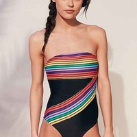 Motel Strapless One-Piece Swimsuit