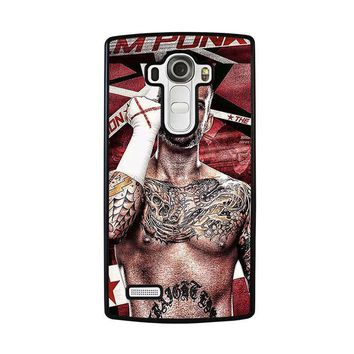 cm punk gloves lg g4 case cover  number 2