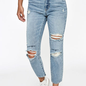 PacSun Marley Blue Mom Jeans at PacSun.com