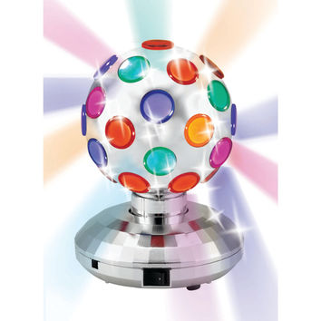 "CORNET BHL-125 5.1"" Rotating Disco Ball Light, Silver"