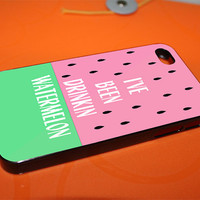 watermelon for iPhone 4, iPhone 5, Samsung Galaxy S3, Samsung Galaxy S4, iPod 4 and iPod 5 Cases
