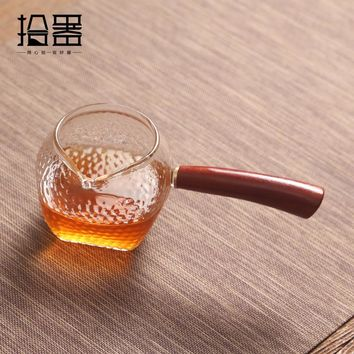 Japanese heat-resistant glass tea cup tea pot drinkware kung fu coffee tea set tea infuser Chinese kettles travel portable cup