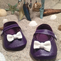Purple Spirit Mary Janes