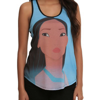Disney Pocahontas Sublimation Girls Tank Top