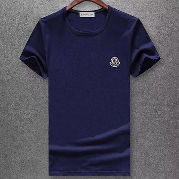 Trendsetter Moncler  Women Man Fashion Simple Shirt Top Tee