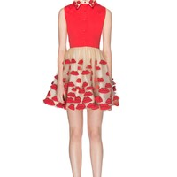 alice + olivia | POUT FITTED POUF DRESS