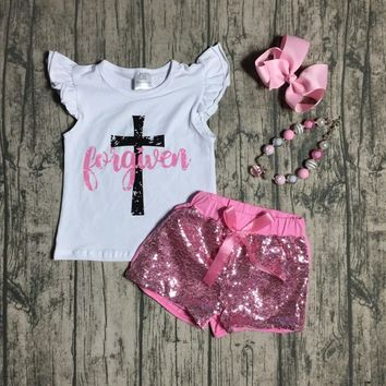 """Forgiven"" 4PC Easter Outfit"