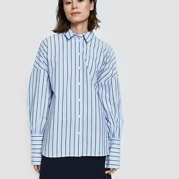 Tibi / Garcon Stripe Easy Shirt