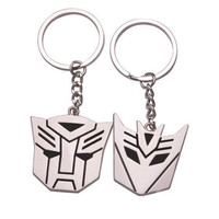 Vintage Transformers His and Hers Couples Keychains