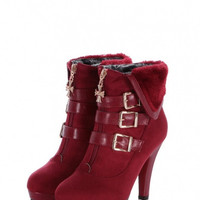 Winter warm fashion elegant stylish boots for women # 45333