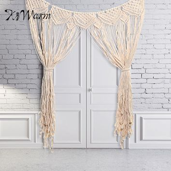 Macrame Wall Hanging Tapestry Room Divider