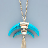 Amazonian River Horn Necklace