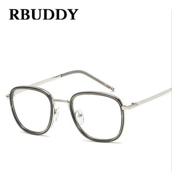 RBUDDY Classic Clear Lens Women Men Eyeglasses myopia designer optical Big Frames Glasses Eyewear Transparent Glasses Frame 2017