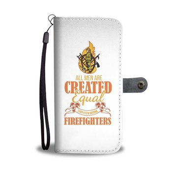 Custom Designed Firefighters Wallet Phone Case