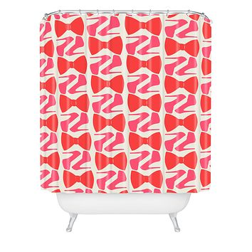 Allyson Johnson Date Night Shower Curtain
