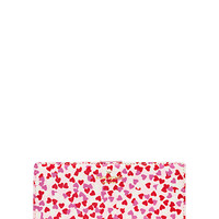 Kate Spade Secret Admirer Confetti Print Stacy Posy Red ONE