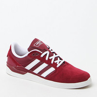 adidas Originals ZX Vulc Burgundy & White Shoes at PacSun.com