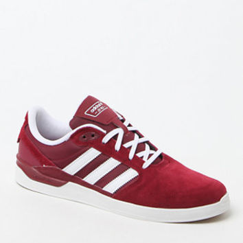 c5b727321825 adidas Originals ZX Vulc Burgundy   White Shoes at PacSun.com