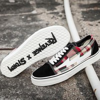 Revenge x Storm Old Skool Black/Lattice Skateboarding Shoe 35-44