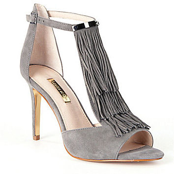 Louise Et Cie Kayla Fringe Dress Sandals | Dillards.com