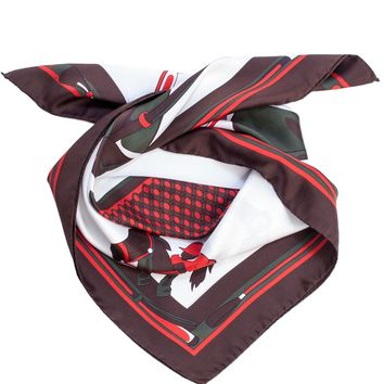 Derby-Equestrian Silk Neckerchief