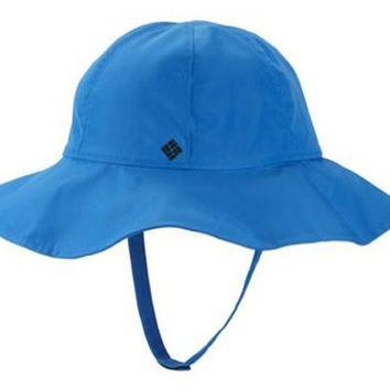 Columbia Kid's Packable Booney Hat,Blue,One Size