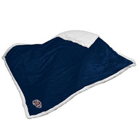 UTEP Miners NCAA Soft Plush Sherpa Throw Blanket (50in x 60in)