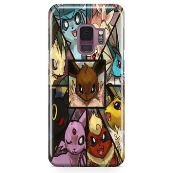 Pokemon Collage Samsung Galaxy S9 Case | Casefantasy