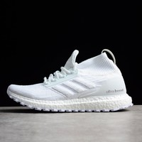 Best Online Sale Adidas Ultra Boost ATR Trace Mid Triple White Boost Men Sport Shoes BY8926