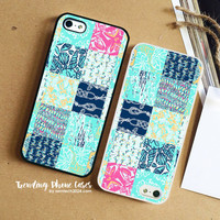 Lilly Pulitzer All Design Square iPhone Case Cover for iPhone 6 6 Plus 5s 5 5c 4s 4 Case