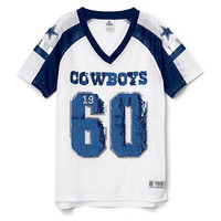 Dallas Cowboys Bling V-neck Jersey - PINK - Victoria's Secret