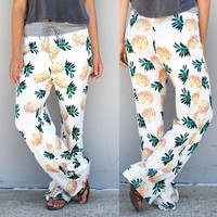 Casual High Waist Pants [11218593095]