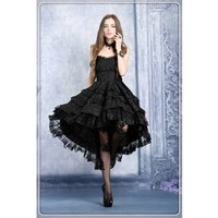 Dw039 Gothic Lolita Noble Swallow Tail Dovetail Dress 89783