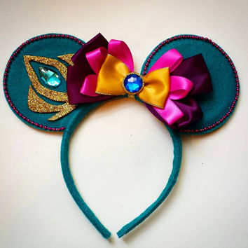 Custom Elsa Coronation Mouse Ears