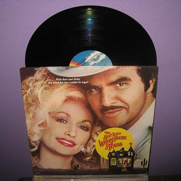 FINAL SALE Vinyl Record Album The Best Little Whorehouse in Texas Original Soundtrack LP 1982 Dolly Parton Musical Classic