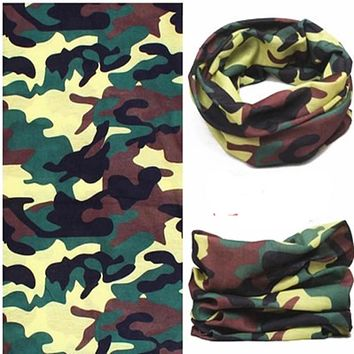 Motorcycle face Mask Cycling Seamless Bandanas Outdoor Sports Balaclava HeadScarf Halloween Face Shield 10 pcs/Lot