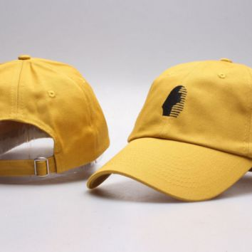 The New Last Kings Visor Unisex Outdoor Couple's Cotton Baseball Cap - Yellow