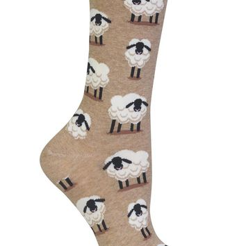 Sheep Women's Crew Socks